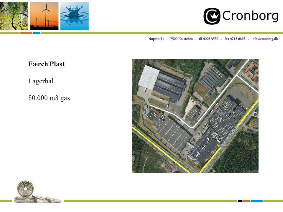 Færch Plast Lagerhal 80.000 m3 gas