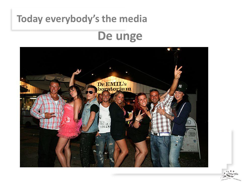 Today everybody's the media De unge
