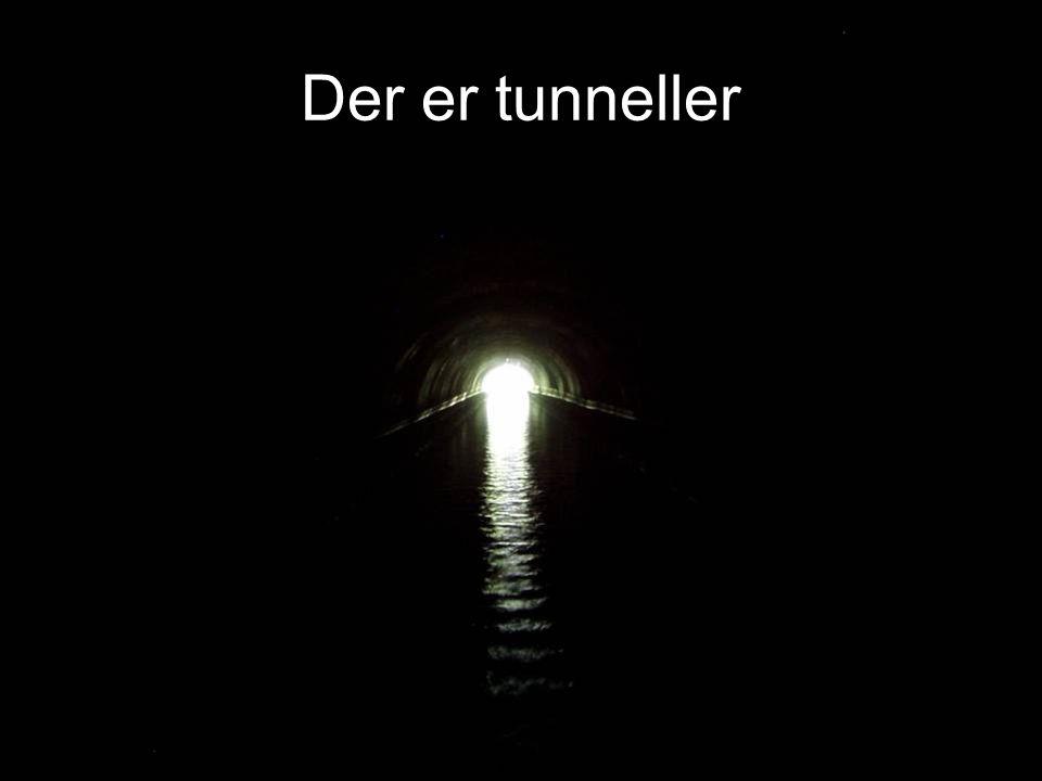 Der er tunneller