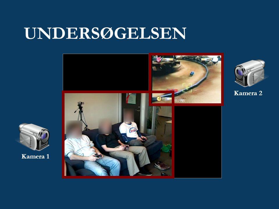 UNDERSØGELSEN Kamera 1 Kamera 2