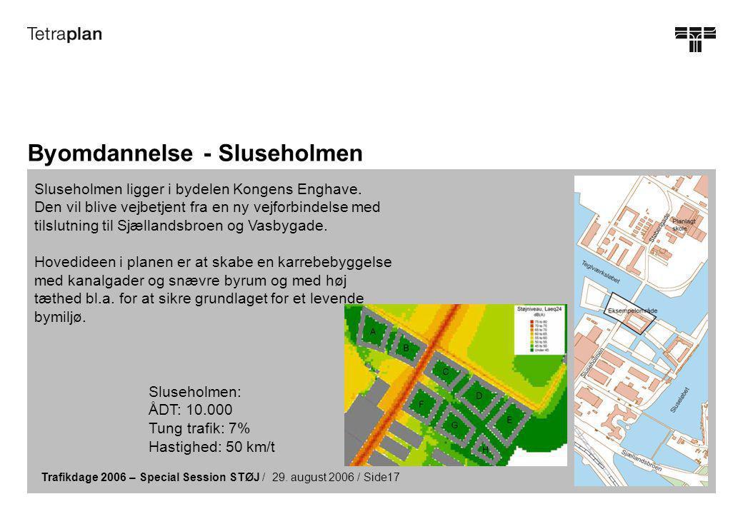 Trafikdage 2006 – Special Session STØJ / 29.