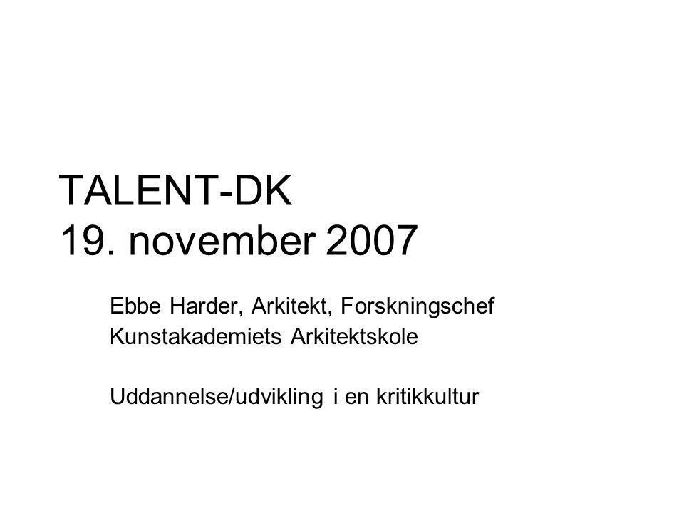 TALENT-DK 19.