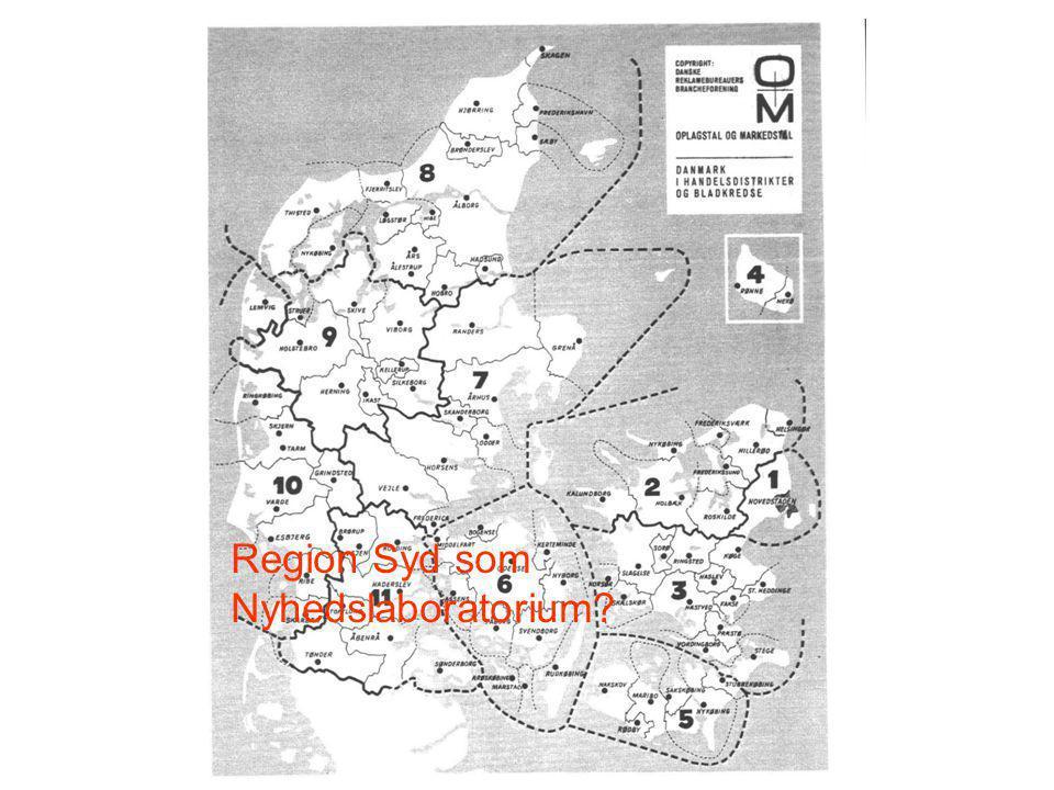Region Syd som Nyhedslaboratorium