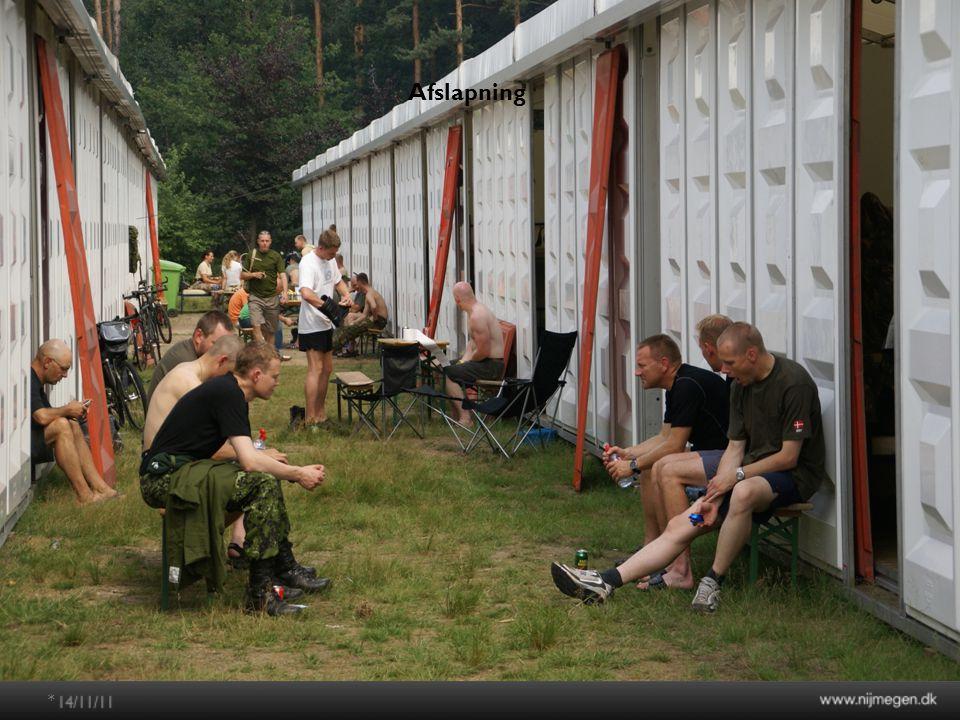 Nijmegenmarchen 2012 * Afslapning
