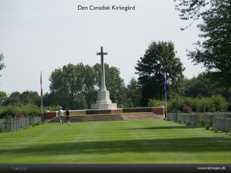 * Den Canadisk Kirkegård
