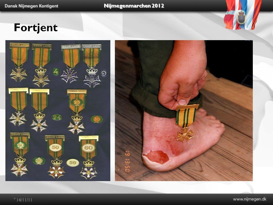 Nijmegenmarchen 2012 Fortjent *