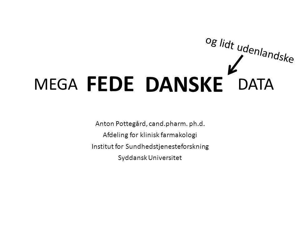 Anton Pottegård, cand.pharm. ph.d.