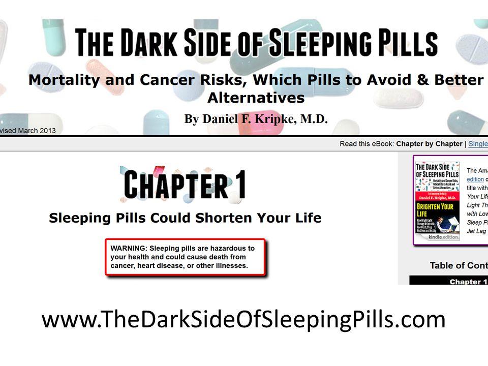 www.TheDarkSideOfSleepingPills.com