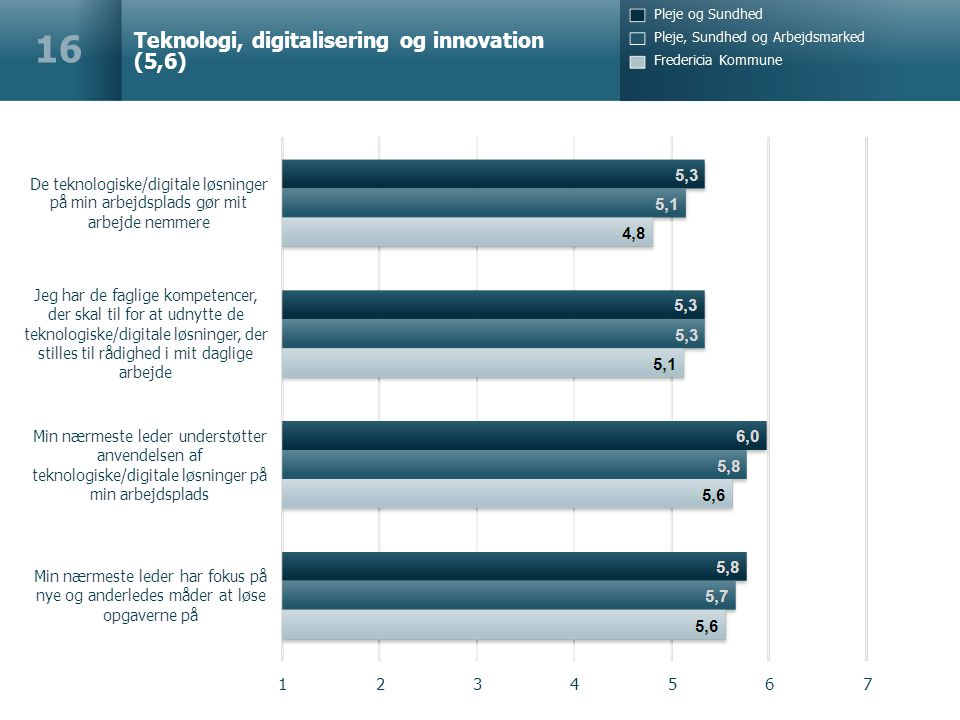 Teknologi, digitalisering og innovation (5,6) 16