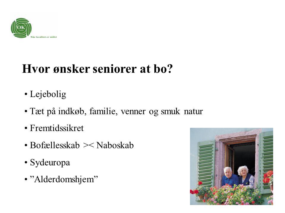 Hvor ønsker seniorer at bo.