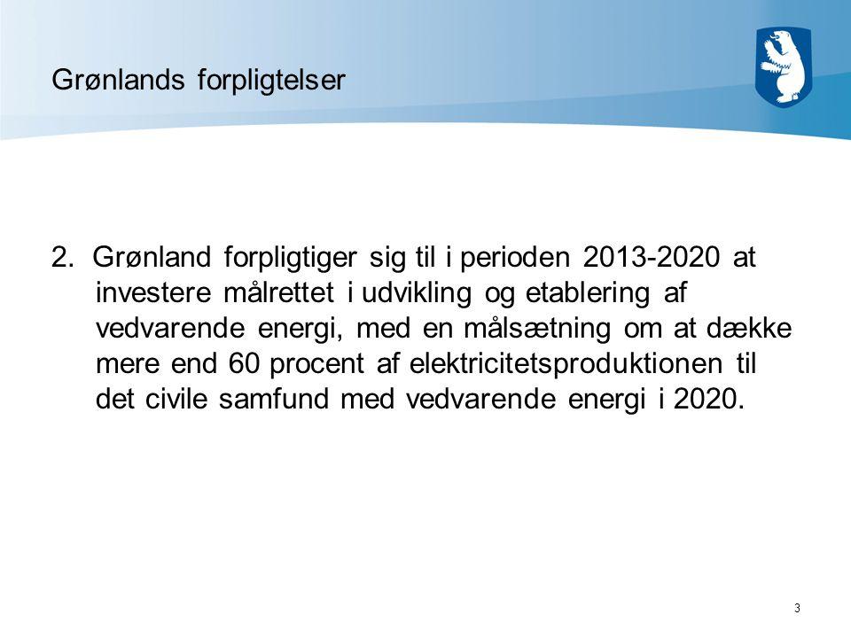 3 Grønlands forpligtelser 2.