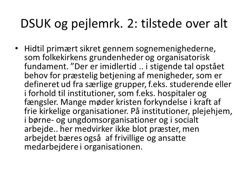 DSUK og pejlemrk.