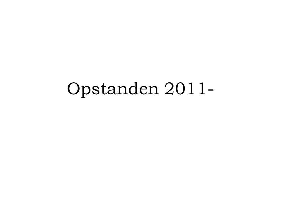 Opstanden 2011-