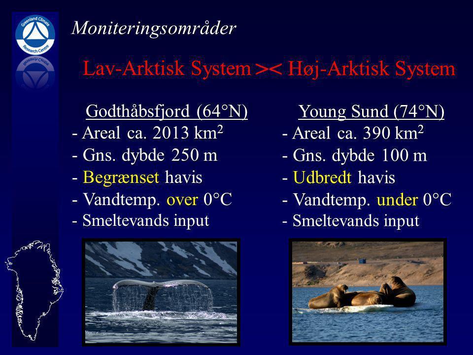 Lav-Arktisk System Godthåbsfjord (64°N) - Areal ca.