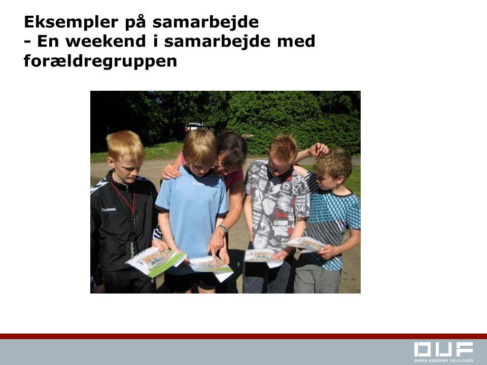 Eksempler på samarbejde - En weekend i samarbejde med forældregruppen