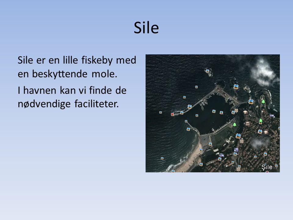 Sile Sile er en lille fiskeby med en beskyttende mole.