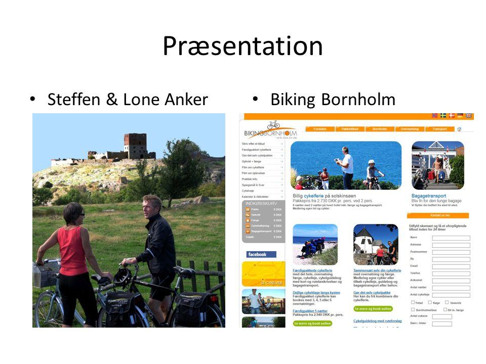 Præsentation Steffen & Lone Anker Biking Bornholm
