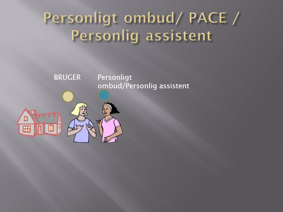 BRUGERPersonligt ombud/Personlig assistent