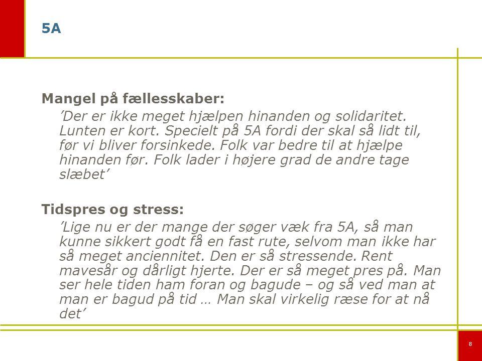 8 5A Mangel på fællesskaber: 'Der er ikke meget hjælpen hinanden og solidaritet.