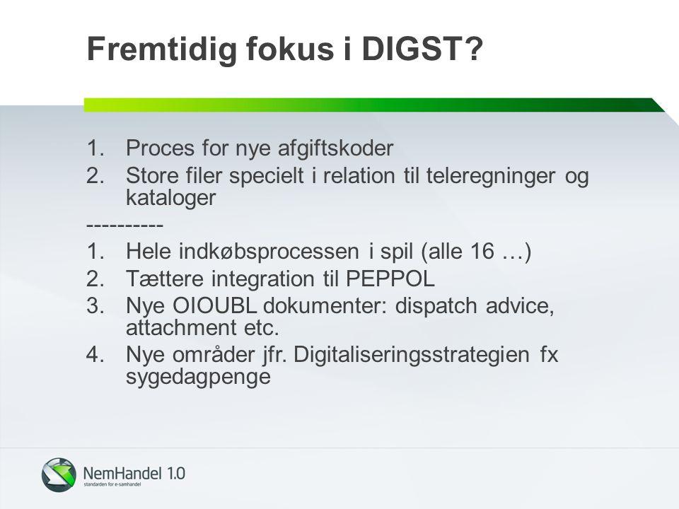 Fremtidig fokus i DIGST.