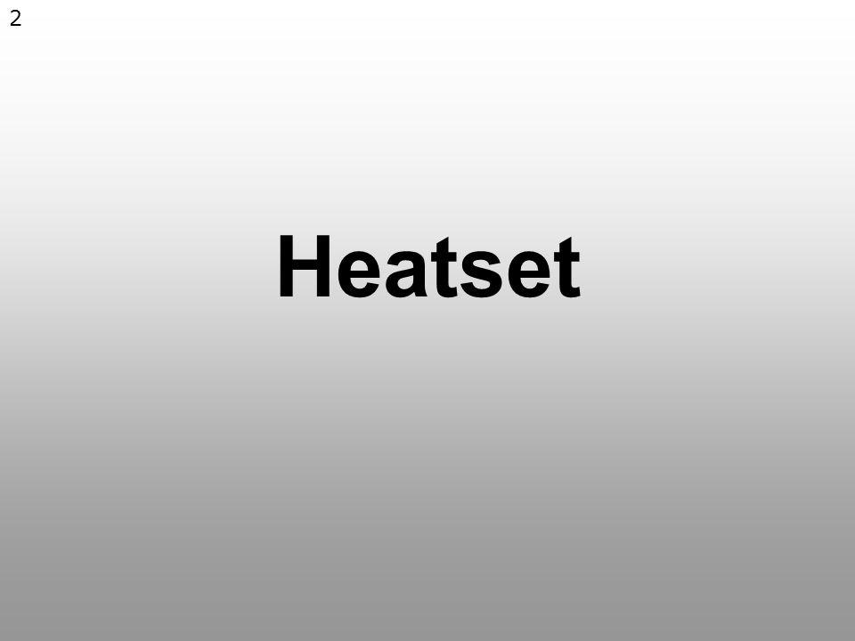 2 Heatset