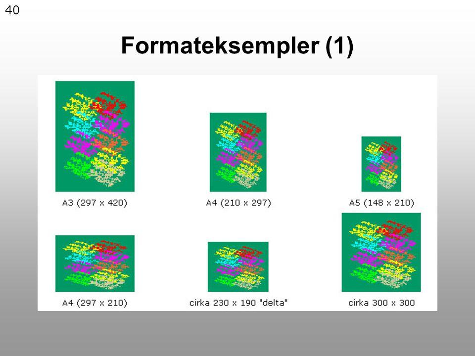 40 Formateksempler (1)