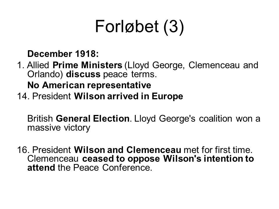 Forløbet (3) December 1918: 1.