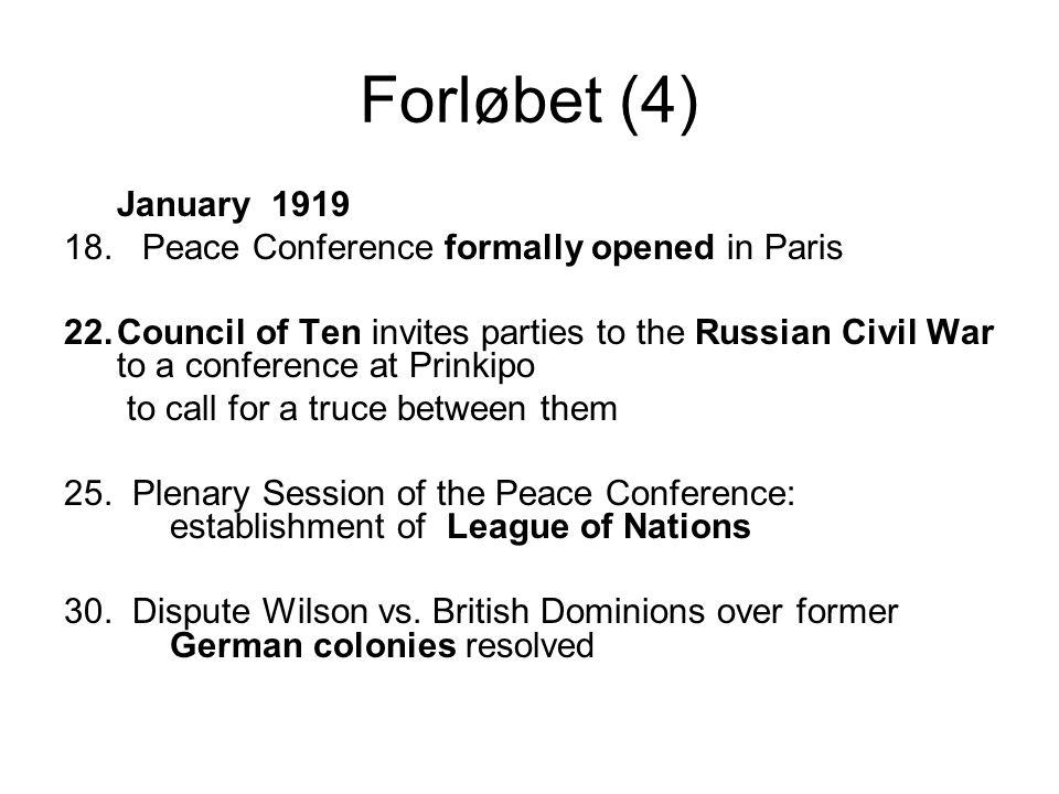 Forløbet (4) January 1919 18.