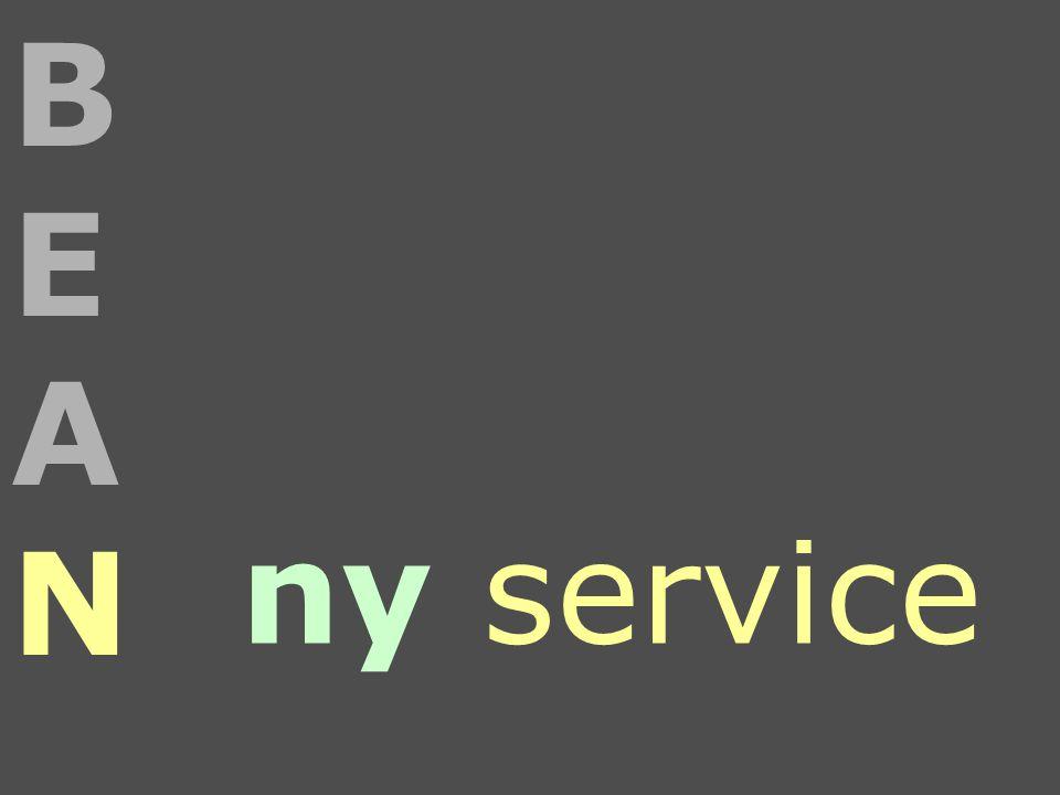 ny service BEANBEAN