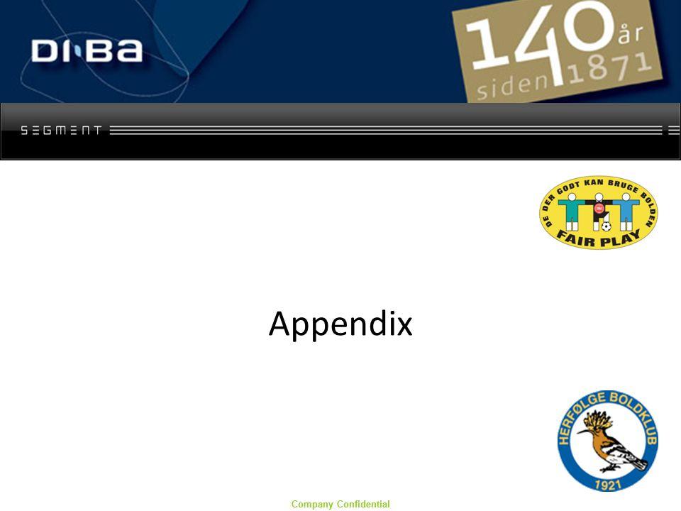 Company Confidential Appendix