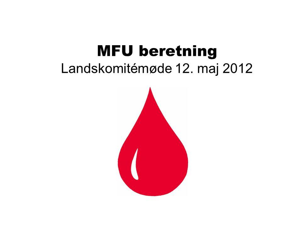 MFU beretning Landskomitémøde 12. maj 2012