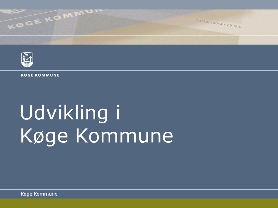Udvikling i Køge Kommune Køge Kommune