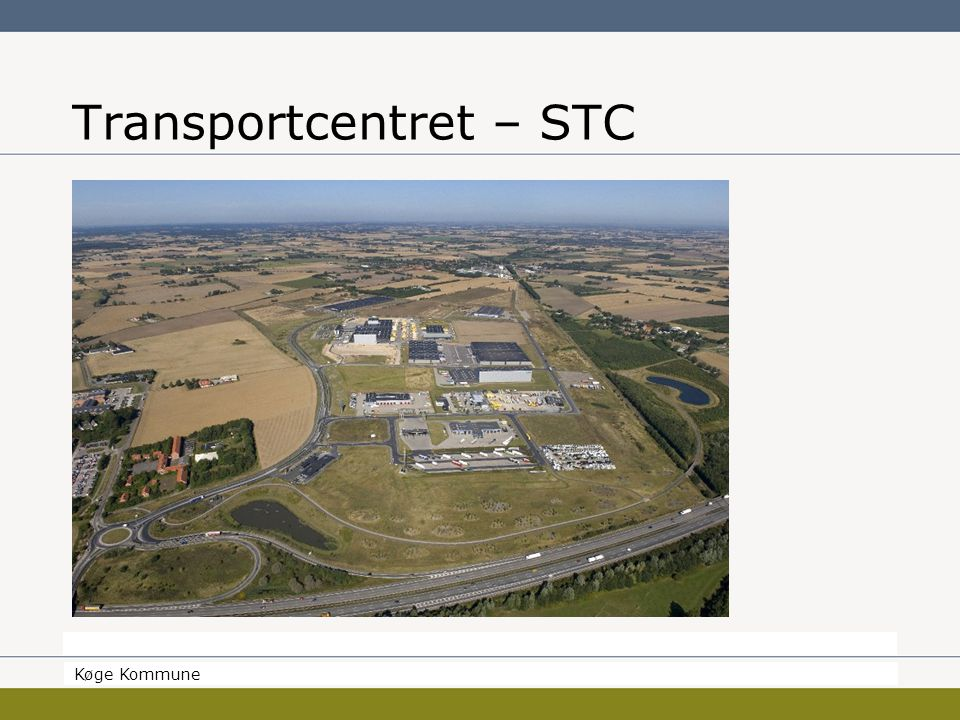 Borgmesteren Køge Kommune Transportcentret – STC Køge Kommune