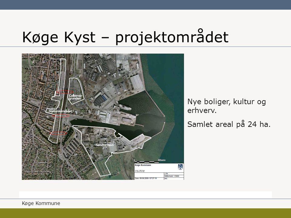 Borgmesteren Køge Kommune Køge Kyst – projektområdet Nye boliger, kultur og erhverv.