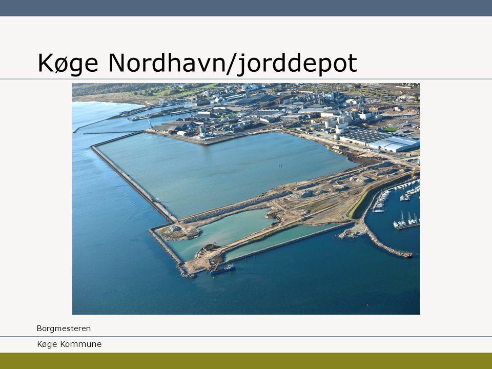 Borgmesteren Køge Nordhavn/jorddepot Køge Kommune