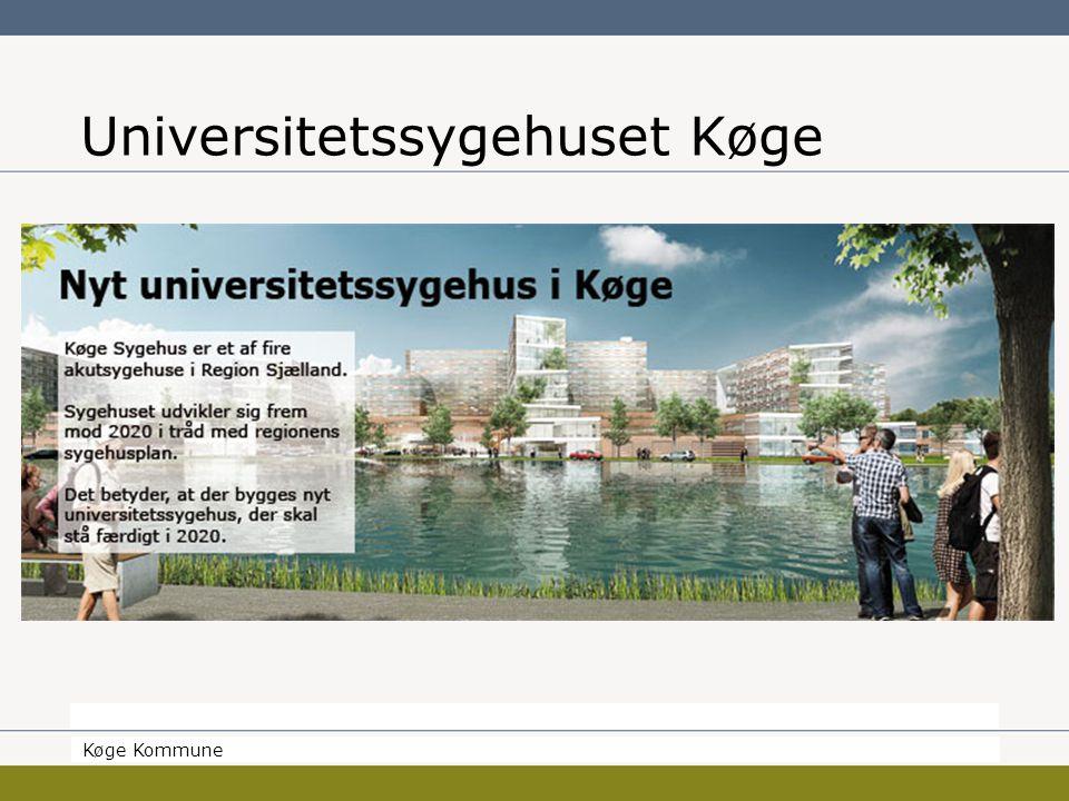 Borgmesteren Køge Kommune Universitetssygehuset Køge Køge Kommune