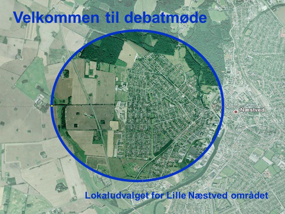 Velkommen til debatmøde Lokaludvalget for Lille Næstved området