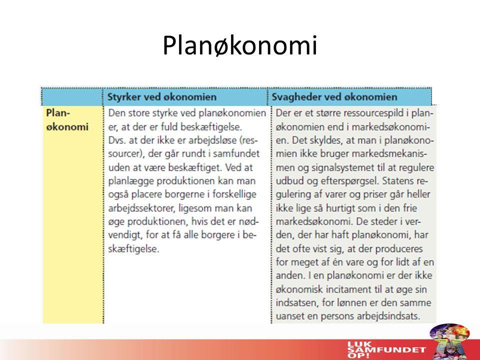 Planøkonomi