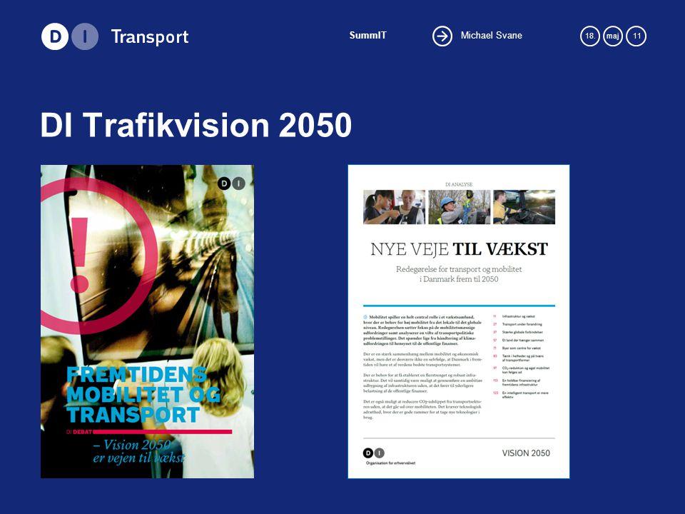 Michael Svane SummIT 18.maj 11 DI Trafikvision 2050
