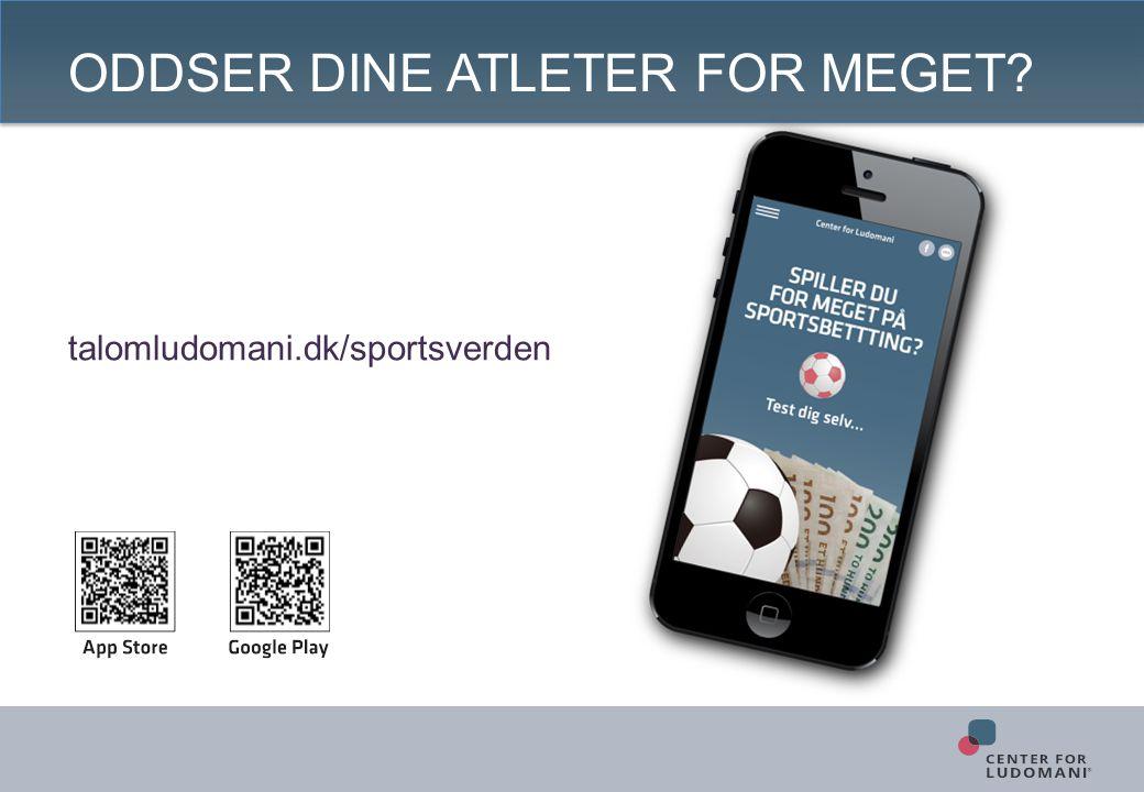 ODDSER DINE ATLETER FOR MEGET talomludomani.dk/sportsverden