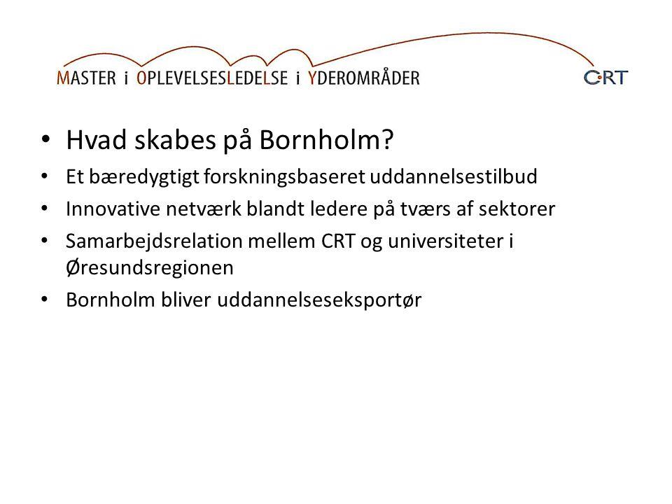 Hvad skabes på Bornholm.