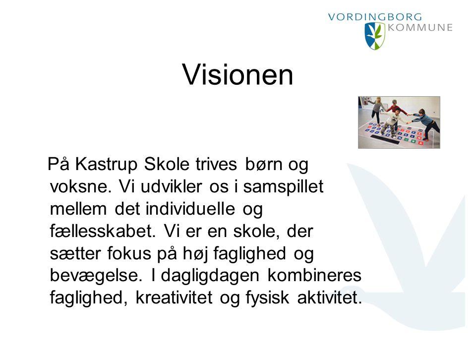 Visionen På Kastrup Skole trives børn og voksne.