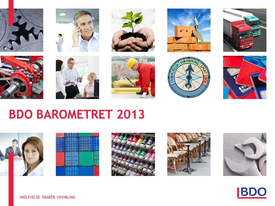INDLEVELSE SKABER UDVIKLING BDO BAROMETRET 2013