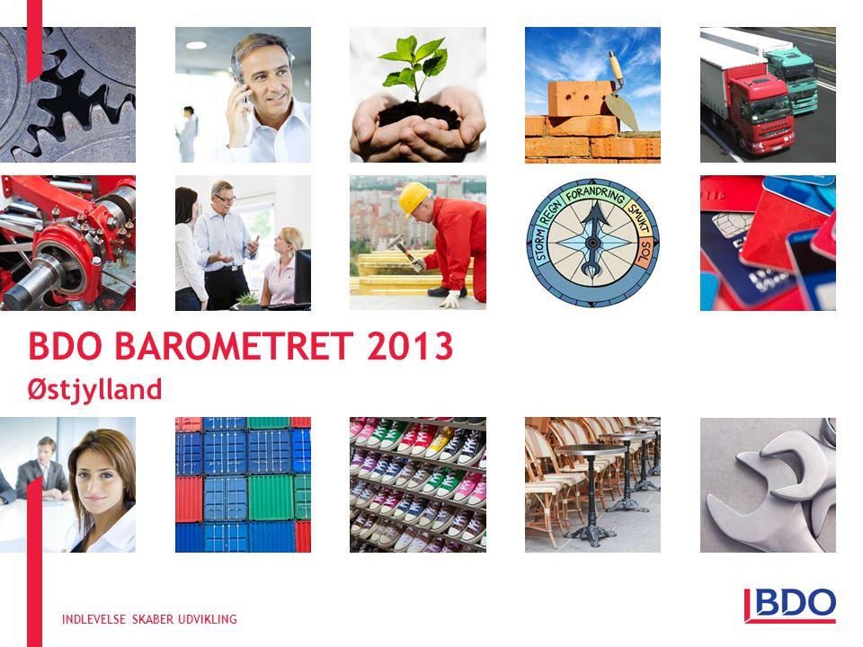 INDLEVELSE SKABER UDVIKLING BDO BAROMETRET 2013 Østjylland