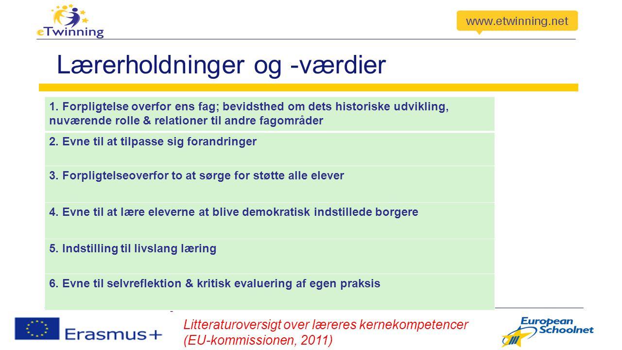 Lærerholdninger og -værdier 1.