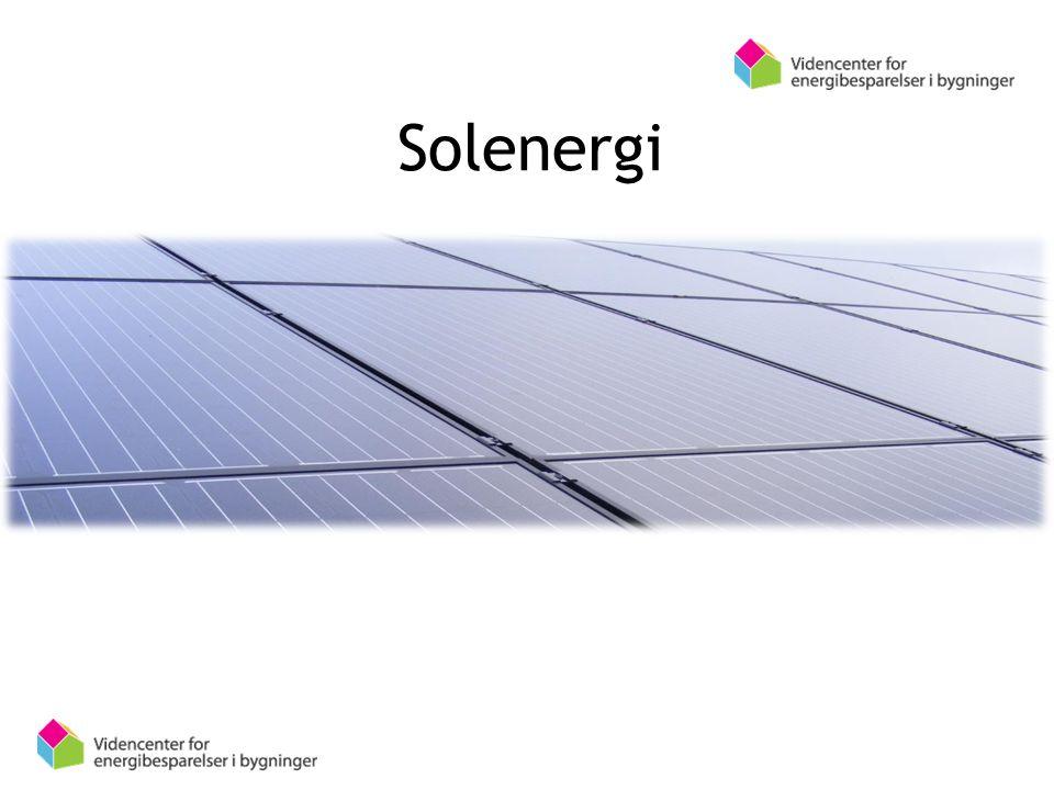 SoleSolenergiergi Virkemåde, montering, lovgivning og beregninger