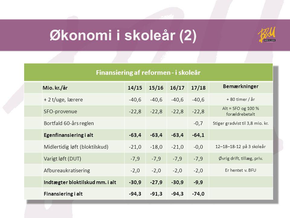 Økonomi i skoleår (2)