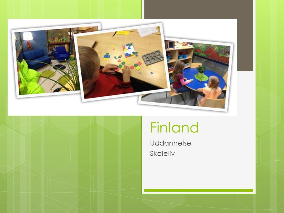 Finland Uddannelse Skoleliv