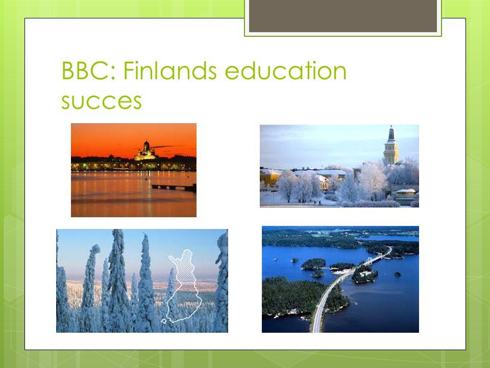 BBC: Finlands education succes