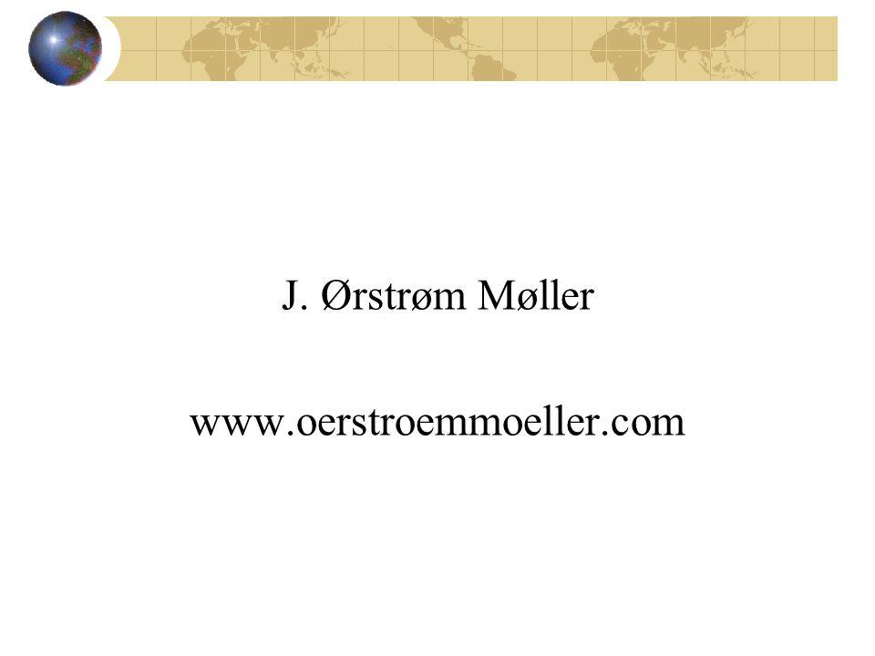 J. Ørstrøm Møller www.oerstroemmoeller.com